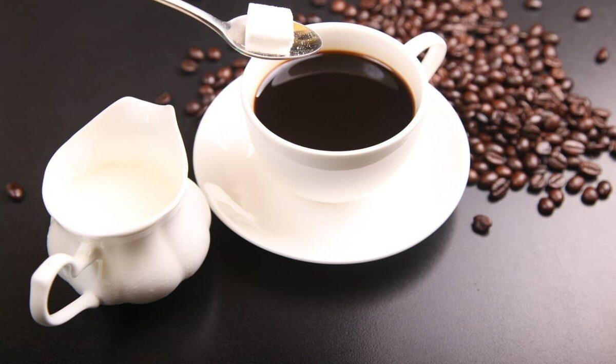 Słodzona kawa