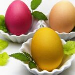 Swieże jajka na święta